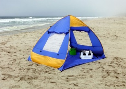 Genji Sports Pop Up Family Beach Tent And Beach Sunshelter review