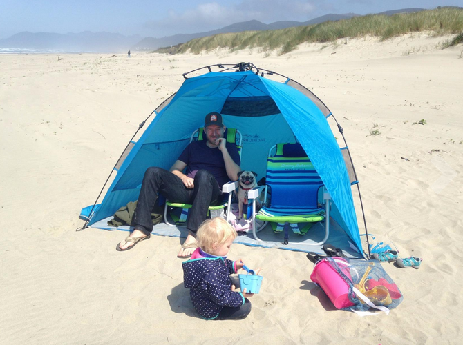 Pacific Breeze Easy Up Beach Tent Review