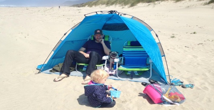 beach tent reviews pacific breeze easyup 2016