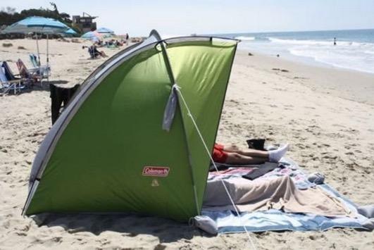 large beach tent