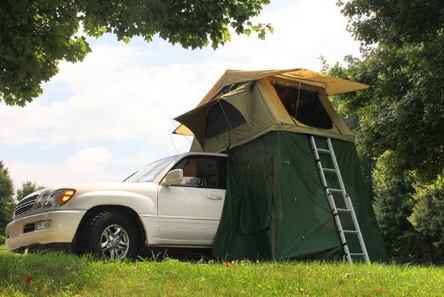 Camco 51373 Vehicle Roof Top Tent with Annex