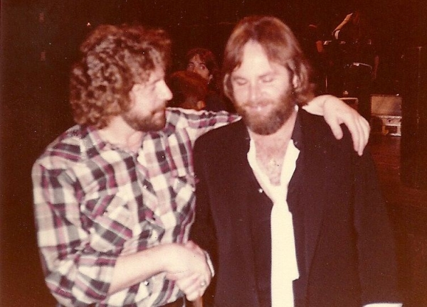 Carl Wilson of the Beach Boys and Bobby, Agora Ballroom