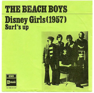 Disney_Girls_(1957) album cover