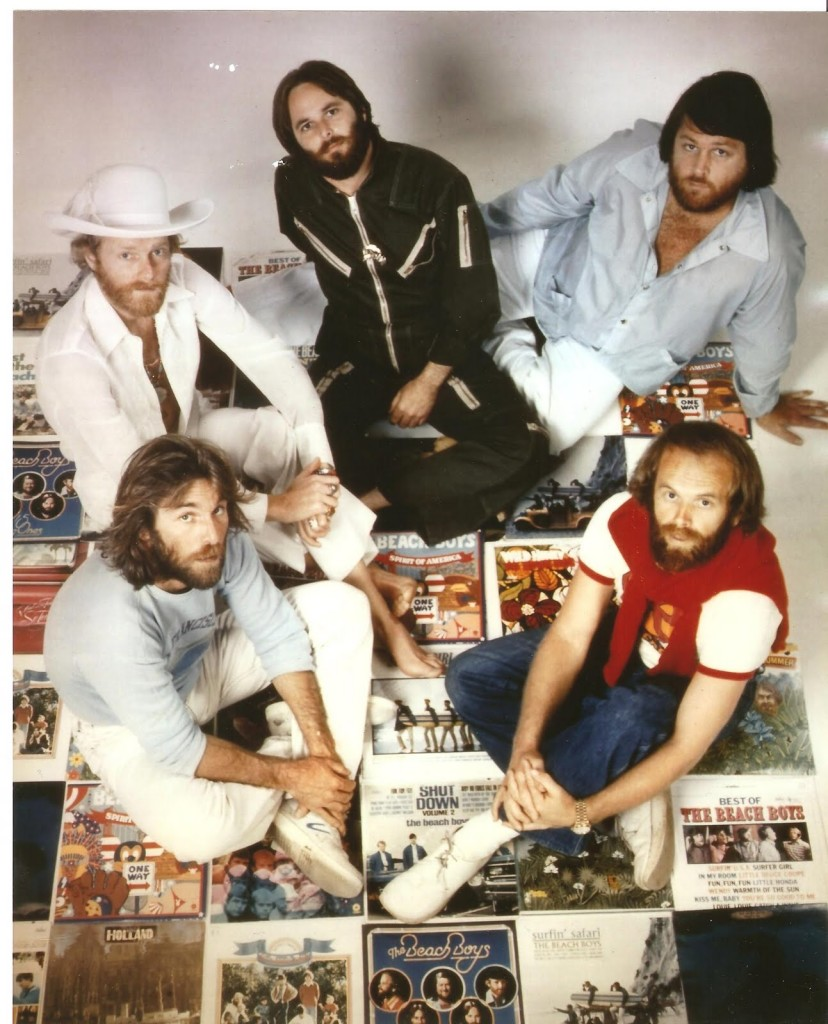 beach boys in chuck's living room