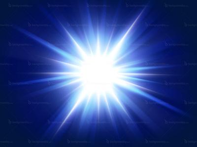blue-flash-background