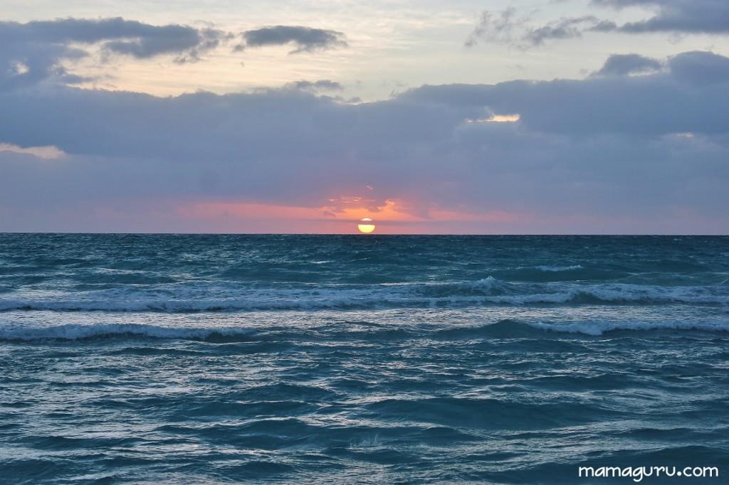 vastness of ocean