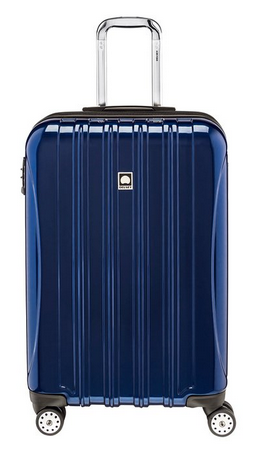 "Delsey Luggage Helium Aero Expandable Spinner Trolley (25"") review"