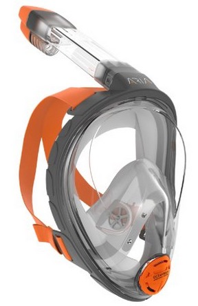 Ocean Reef Aria Full Face Snorkel Mask with Optional Gear up Guide Bag review