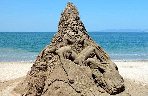 Sand-Sculpture