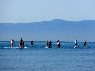 mexico stand up paddle boarding