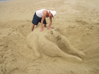 sand sculptures in mexico