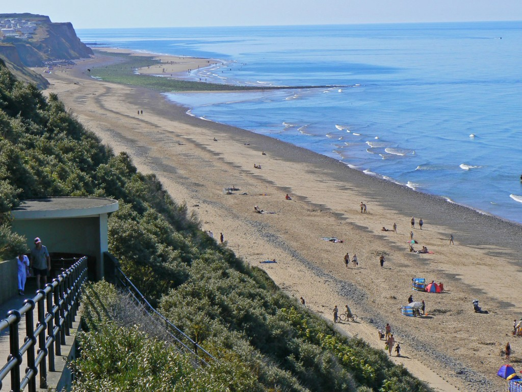 cromer beach west