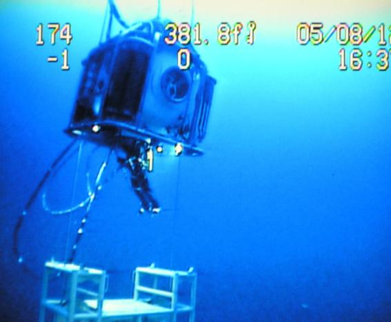 diving bell excursion