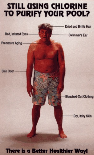 effects of chlorine on skin
