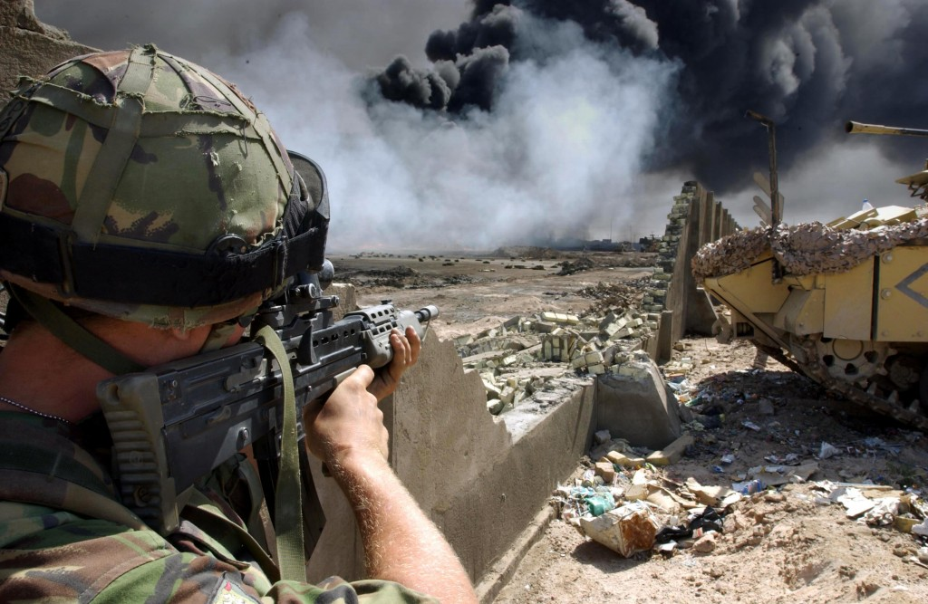 war in basra iraq
