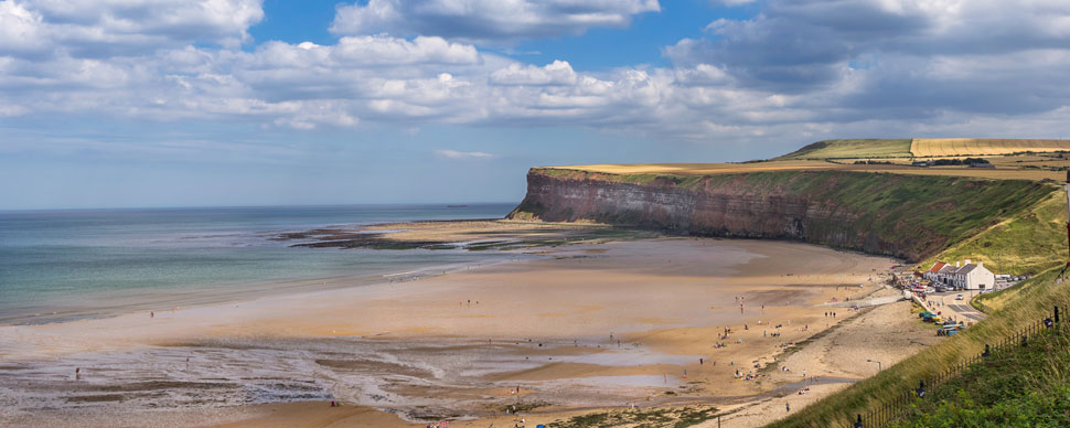 yorkshire beaches northern uk
