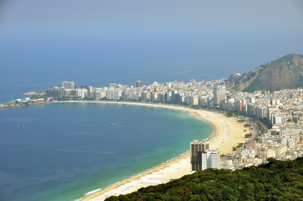copacabana beach rio de janeiro