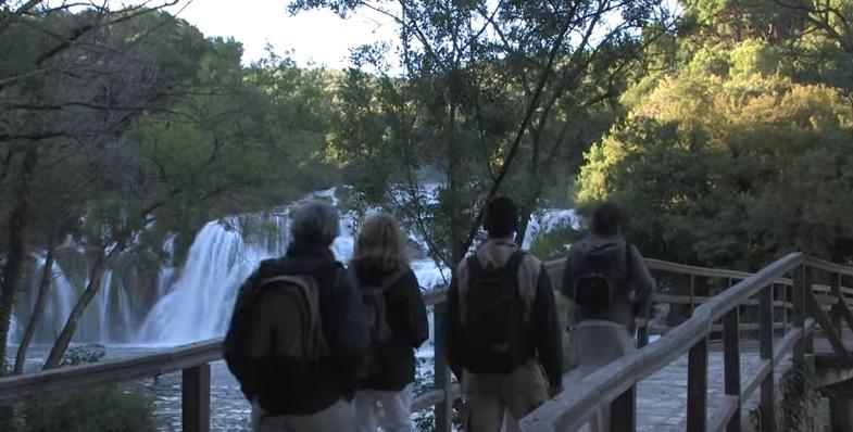croatia waterfall