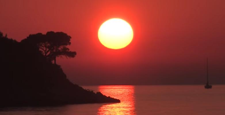 dalmatian islands sunset
