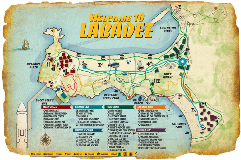 labadee map things to do haiti