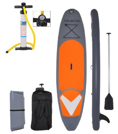 Vilano Navigator 10 Inflatable SUP Stand Up Paddle Board Package review