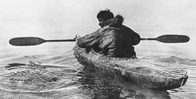 early kayak inuit