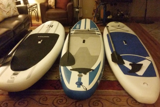 inflatable stand up paddle board by vilano