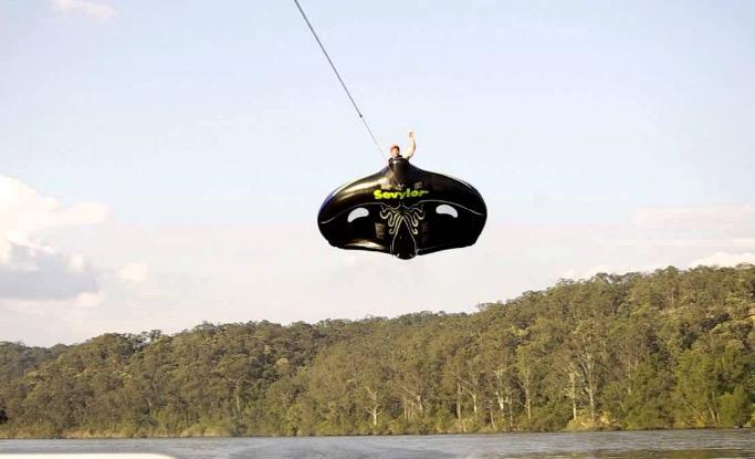 manta ray ski tube