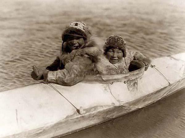 old inuit kayak