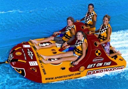sportsstuff bandwagon inflatable towable