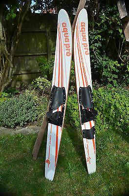 vintage retro water skiis