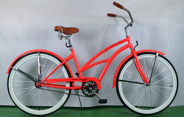 26-Steel-Frame-Cheap-Beach-Cruiser-Bike