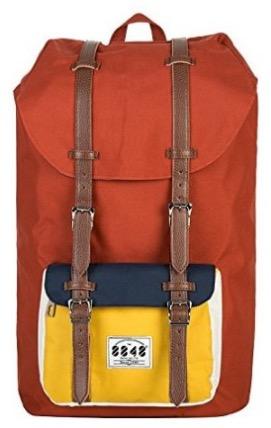 8848 Unisex' s Travel Hiking Backpack Waterproof Material