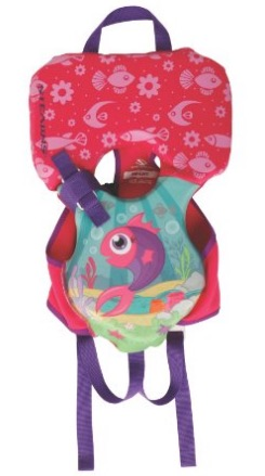 Stearns Infant Puddle Jumper Hydroprene Fish Print Life Jacket review