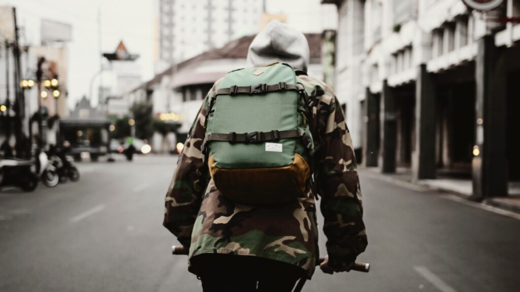 Biking backpack