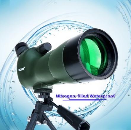 nitrogen filled waterproof birdwatching scope uscamel review