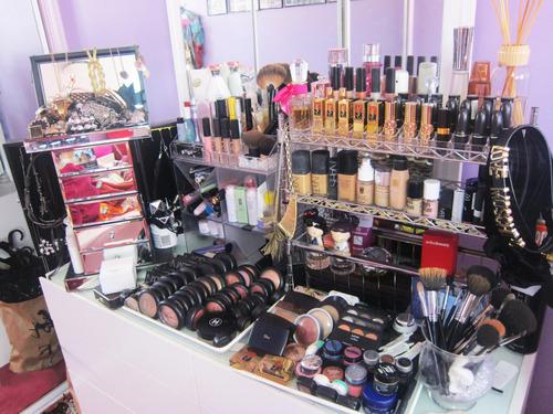 suntan makeup