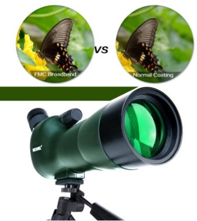 uscamel birdwatching scope review