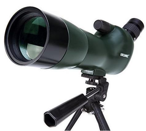 uscamel birdwatching waterproof spotting scope