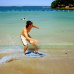 What Is Skimboarding?