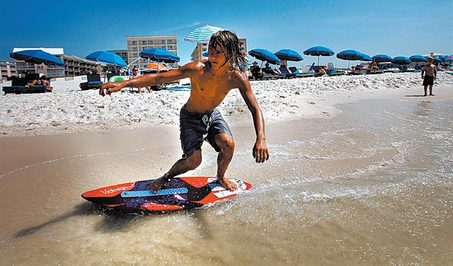 what-is-skimboarding