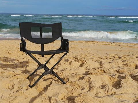 Front Runner Expander Chair at the Beach