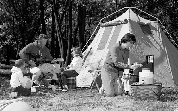 1960s camping