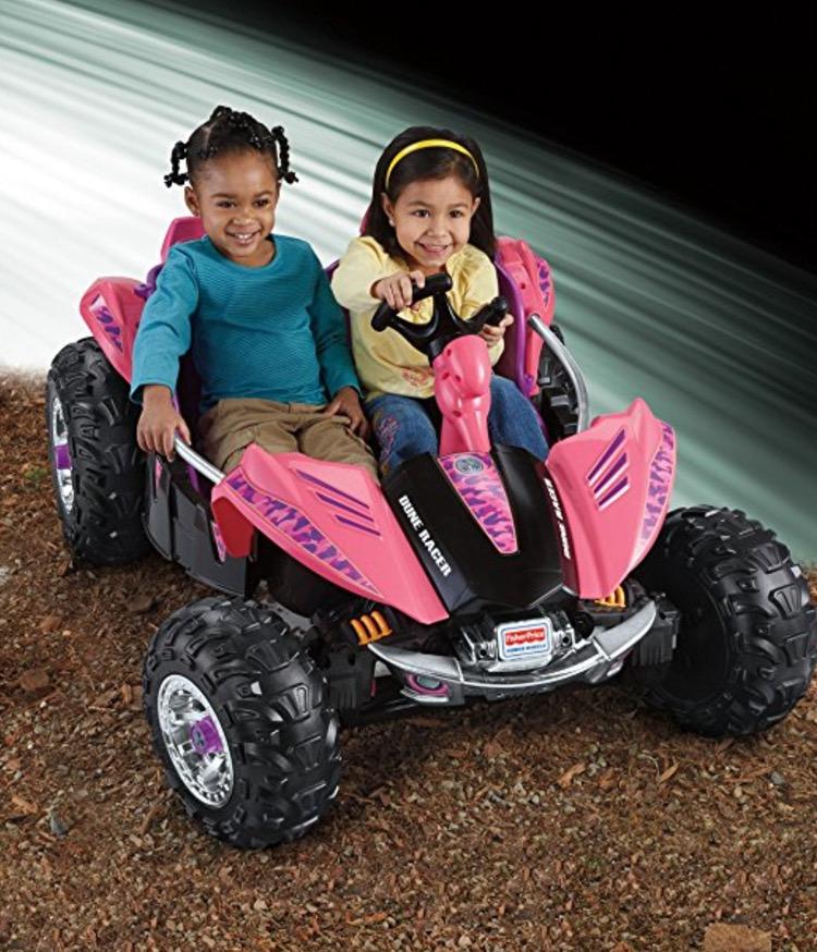 Power Wheels Camo Dune Racer review