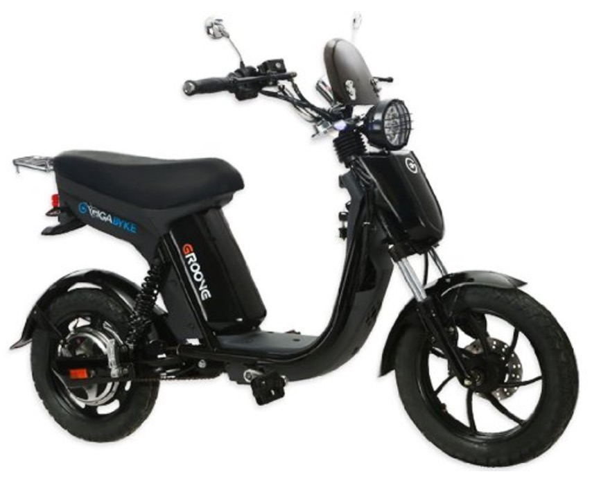 gigabyke groove eco-friendly black moped review