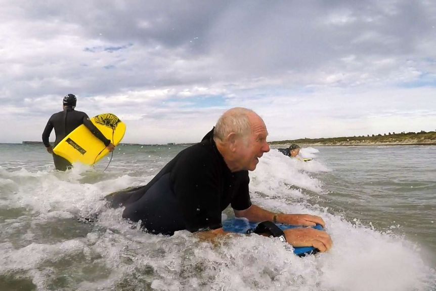 boogie boarding for retirees