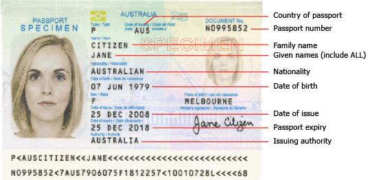 check your passport