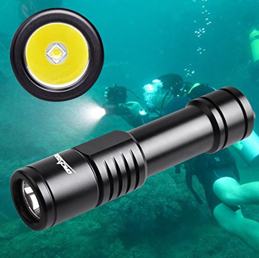 ORCATORCH D520 Diving Flashlight Scuba