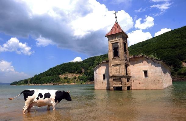 St. Nicholas church mavrovo lake