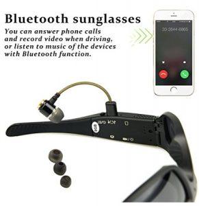 bluetooth sunglasses with camera